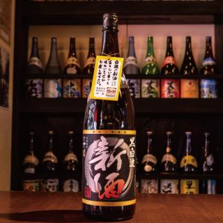 【2020年新酒】黒白波新酒 25度 1800ml《薩摩酒造》鹿児島県枕崎市【芋焼酎】