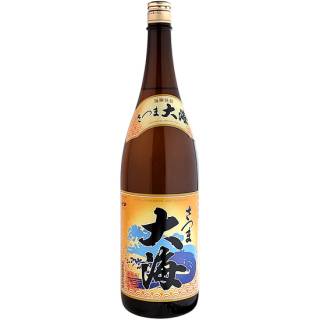 【2020年新酒】さつま大海 新酒 1800ml 《大海酒造》鹿児島県鹿屋市【芋焼酎】