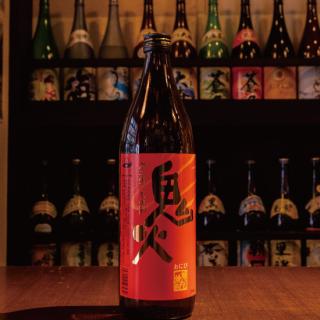 鬼火(焼芋焼酎)900ml《田崎酒造》いちき串木野市【芋焼酎】
