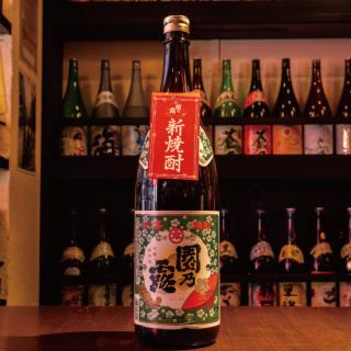 【2020年新酒】園乃露 新焼酎 1,800ml《植園酒造》さつま町【芋焼酎】