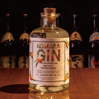 KOMASA GIN 桜島小みかん 500ml 《小正醸造》【GIN】