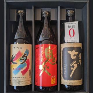 【送料無料】田崎酒造レギュラー飲み比べ3本セット(ギフトBOX入り)《田崎酒造(いちき串木野市)》