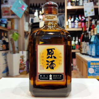 【原酒】さつま白波原酒 720ml 《薩摩酒造(枕崎市)》【芋焼酎】
