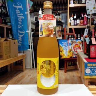 【梅酒】上等梅酒 ゆず 720ml 《本坊酒造(鹿児島市)》【リキュール】