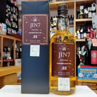 JIN7 series 02 700ml 《大山甚七商店(指宿市)》【ジン】