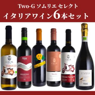【12セット限定】【送料無料】TWO-Gワイン 辻井ちゃんセレクト6本セット