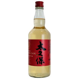 【樽貯蔵】太久保 RED CASK 700ml 25度《太久保酒造(志布志市)》【芋焼酎】