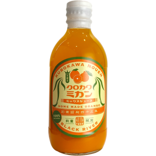 三柑王ミックス ストレートジュース 300ml《黒川みかん農園(日置市)》