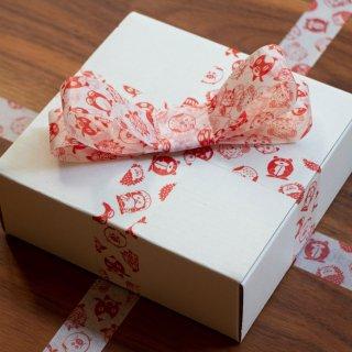 【3個】縁起豆 マスキングテープ