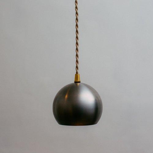 OPL080<br>SPOT PENDANT LIGHT - STEEL BALL / スポット照明 スチールボール
