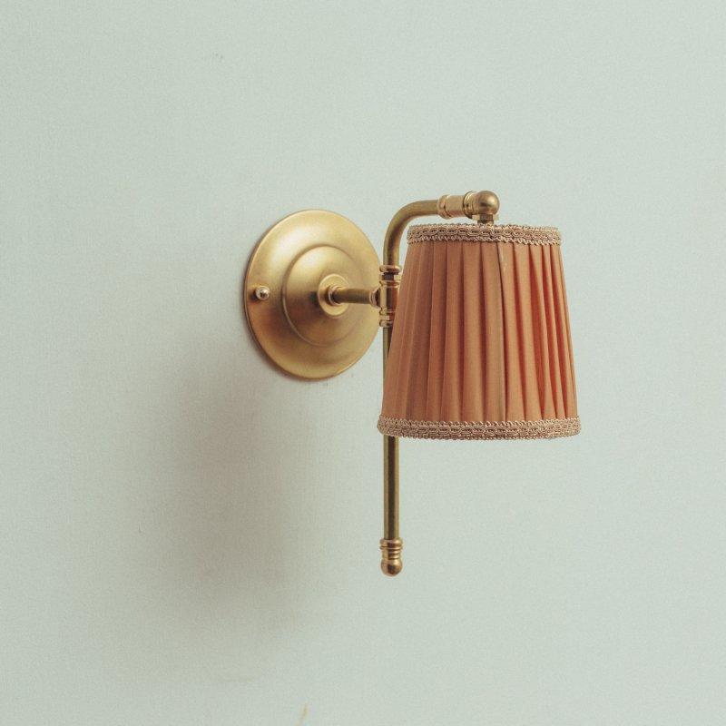 OBL043<br>COTTON SHADE BRACKET LAMP / コットンシェードブラケットランプ