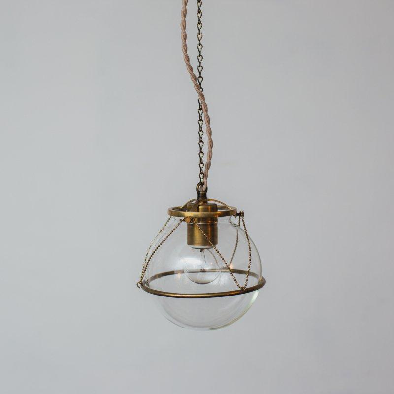 OPL100<br>GLASS SHADE LAMP-Accessories / 真鍮ガラスシェード照明