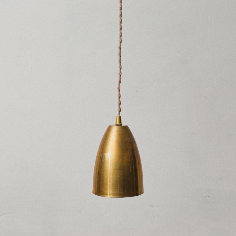 OPL101<br>BRASS SHADE LAMP / 真鍮シェード照明