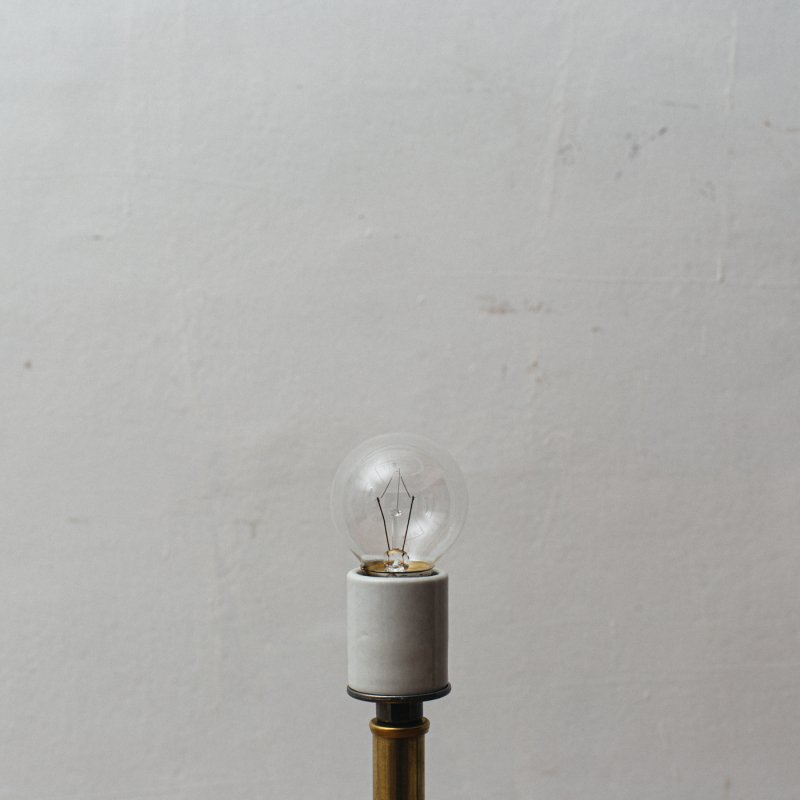 LAMP BULB E26 25W - CLEAR BALL<br>白熱電球 E26 25W クリア