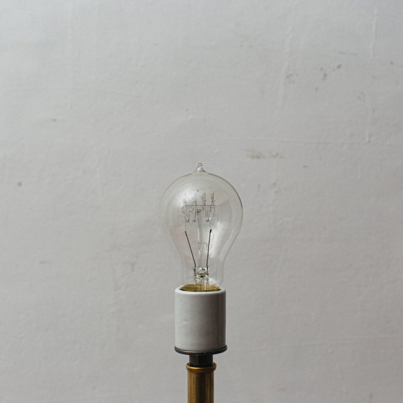LAMP BULB E26 40W - EDISON A-SHAPE S<br>白熱電球 E26 40W エジソン