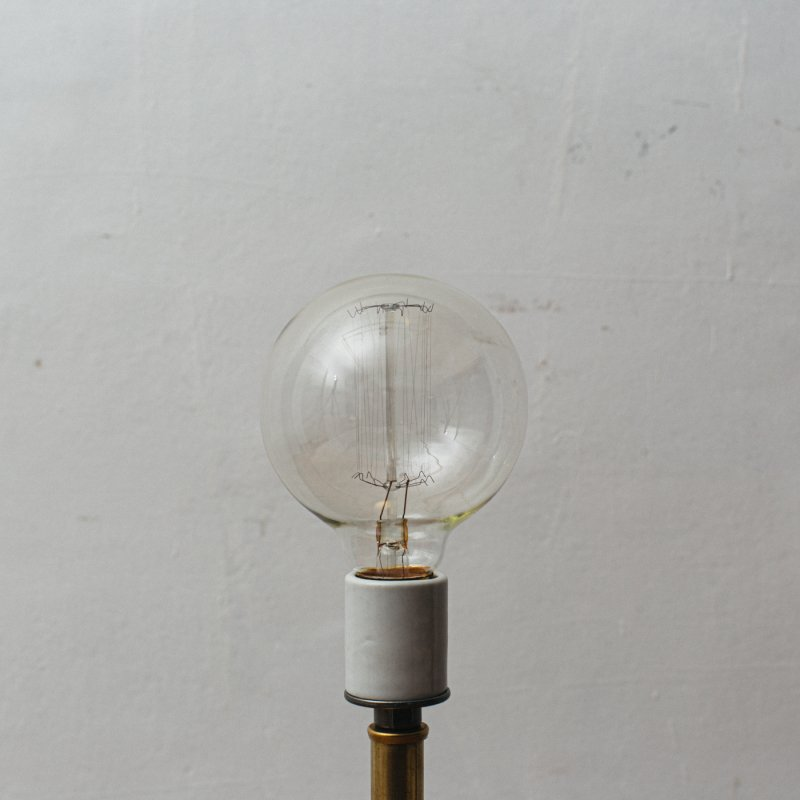 LAMP BULB E26 40W - EDISON GLOBE M<br>白熱電球 E26 40W エジソン