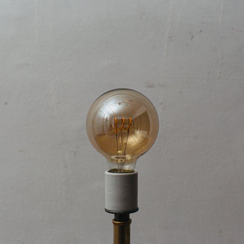 LED BULB E26 3.8W - G80 EDISON AMBER<br>LED電球 E26 3.8W エジソン アンバー