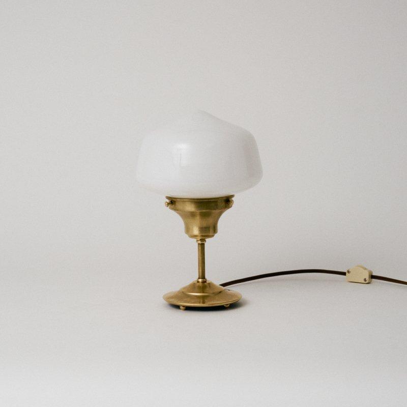 OSL077<br>STAND LIGHT - M size SCHOOL HOUSE / 真鍮スタンド照明