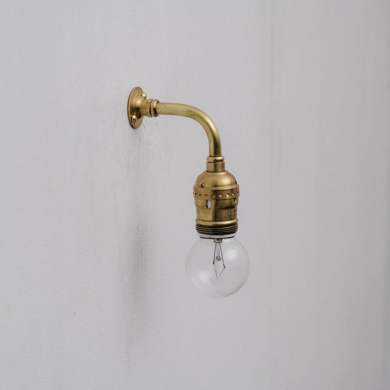 OBL037<br>BRACKET LAMP / 真鍮ブラケットランプ