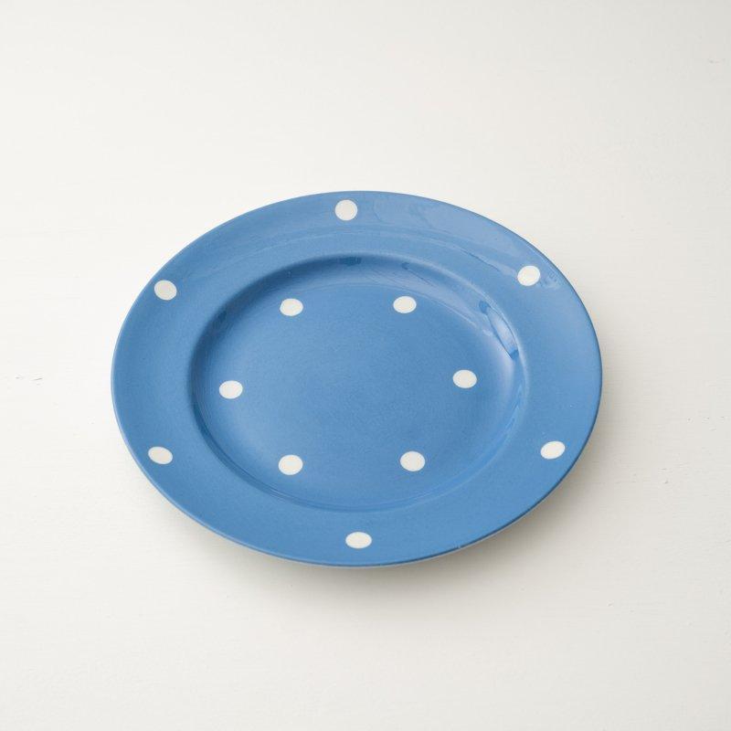 PLATE <br>プレート ブルー ドット 直径 26.0cm