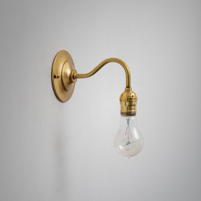 OBL024E<br>BRACKET LAMP / 真鍮ブラケットランプ