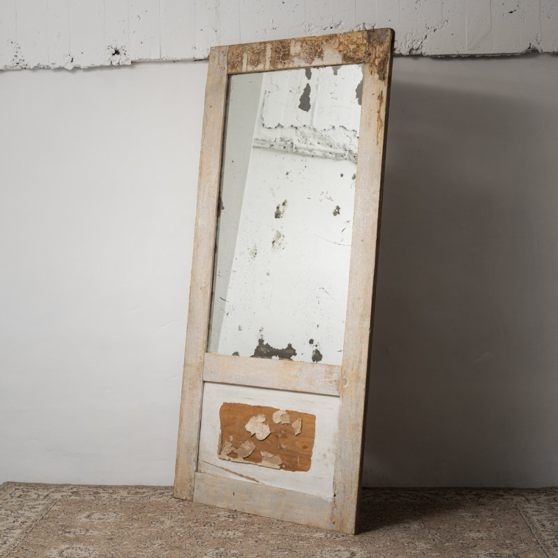 ANTIQUE DOOR MIRROR<br> アンティーク ドア ミラー
