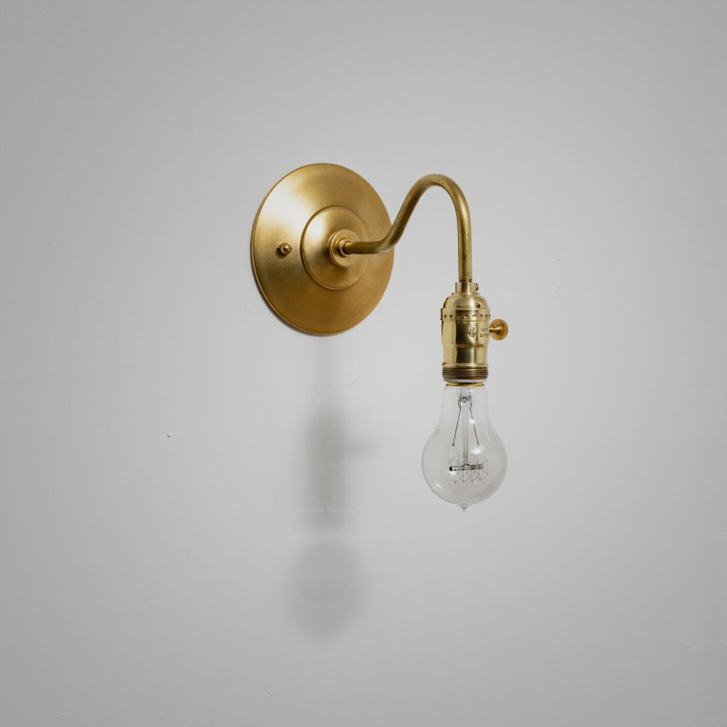 OBL024F-U<br>BRACKET LAMP SWITCH / 真鍮ブラケットランプ スイッチ
