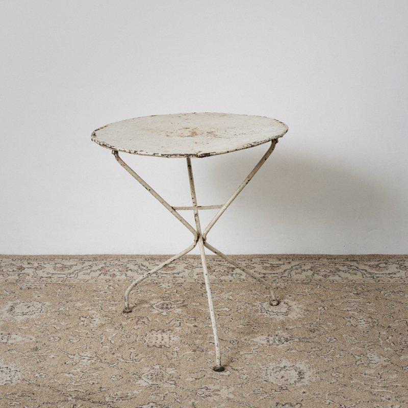 ROUND FOLDING TABLE <br> ヴィンテージ ラウンド テーブル