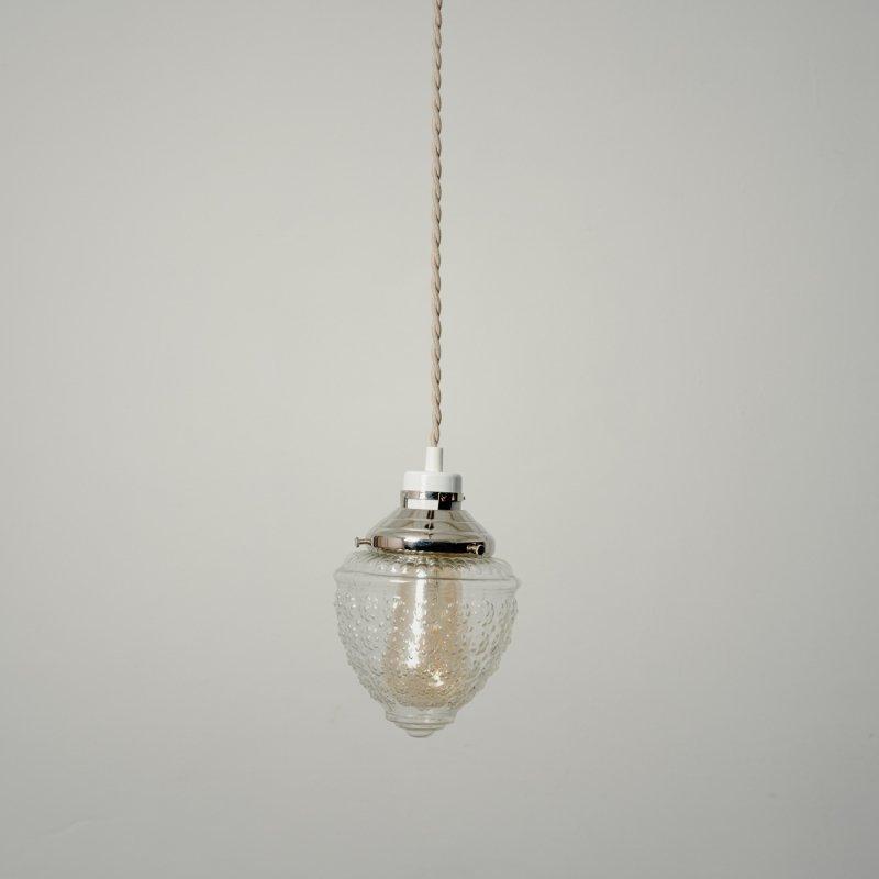 PENDANT LAMP - B <br> ガラスペンダントランプ B