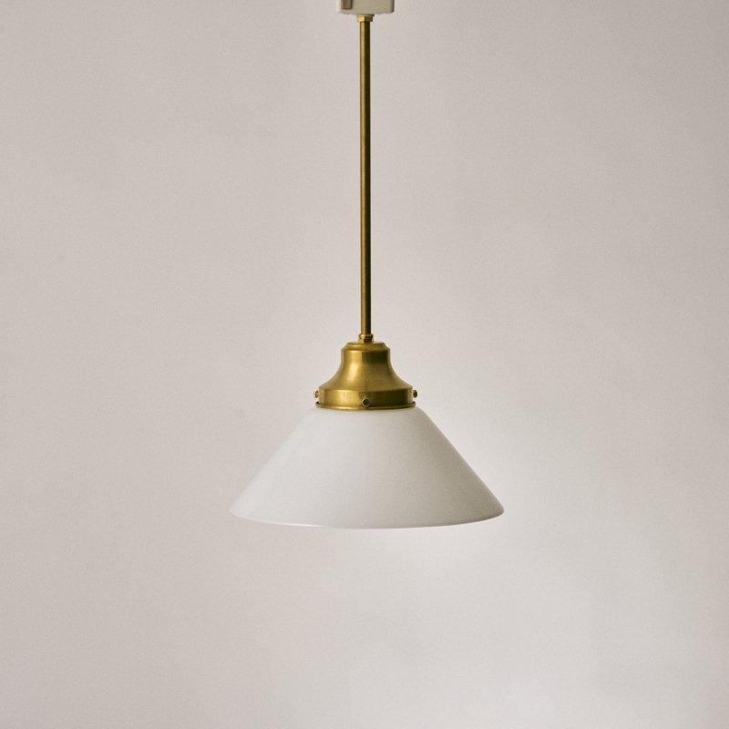 OPL095<br>GLASS SHADE LAMP / 真鍮ガラスシェード照明