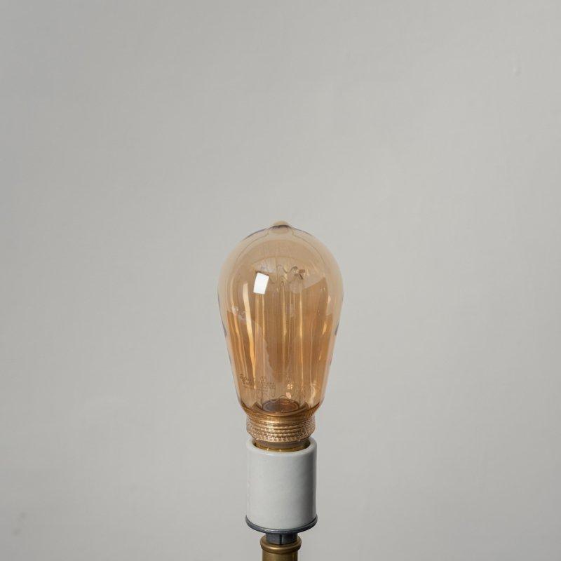 LED BULB E26 4W - LONG GOLD<br>LED電球 E26 4W ロングゴールド