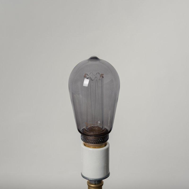 LED BULB E26 4W - LONG GRAY<br>LED電球 E26 4W ロンググレー