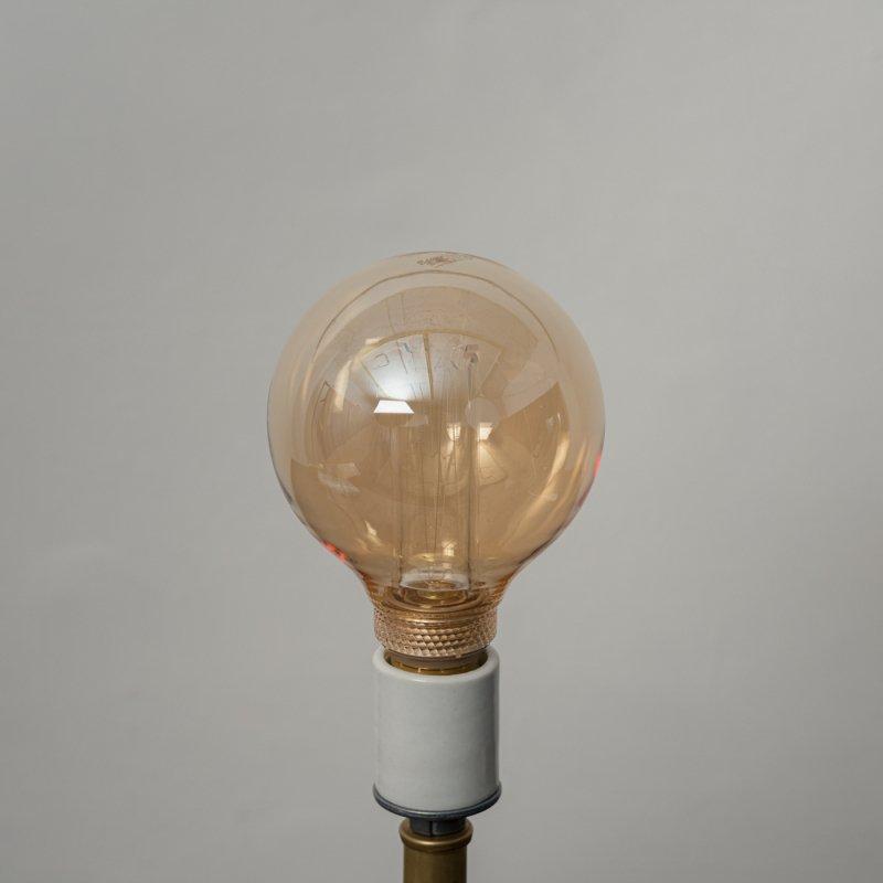 LED BULB E26 4W - GLOBE GOLD<br>LED電球 E26 4W グローブゴールド