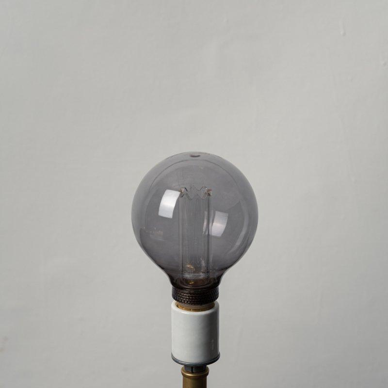 LED BULB E26 4W - GLOBE GRAY<br>LED電球 E26 4W グローブグレイ