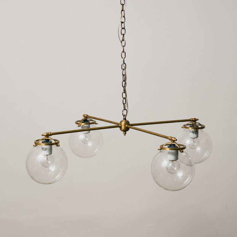 OCH010B-CL<br>4 BULBS LIGHT CL / 真鍮4灯照明シャンデリア