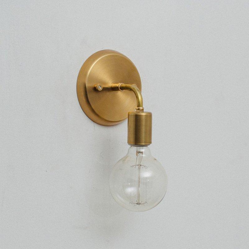 I様ご決済専用8/27 OBL018<br>BRACKET LAMP / 真鍮ブラケットランプ