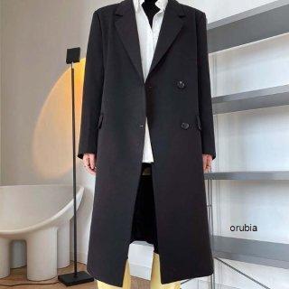 テーラード スーツ ロング ジャケット コート シングルボタン ミドル丈 カジュアル アウター