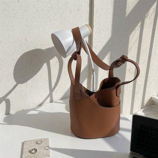 ハンドバッグ ショルダー バスケット かご型 トレンド ワイルドワンショルダー 斜めバッグ 大容量 バケットバッグ 手提げかばん ミニ 小さめ