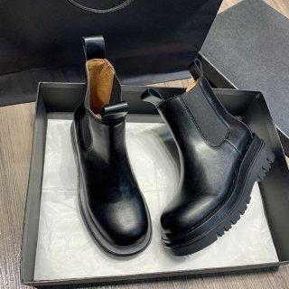ブーツ ショート丈 秋冬 厚底ブーツ シンプル フェイクレザー 履きやすい
