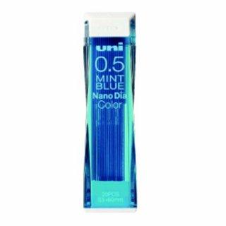 ユニ ナノダイヤ カラー芯 0.5mm ミントブルー