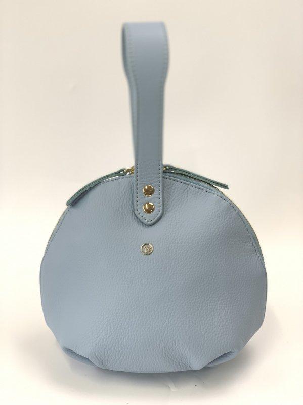 円型ハンドバッグ