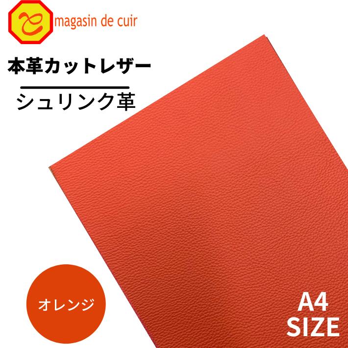 【ベリー】A4ソフトシュリンク(1703オレンジ)