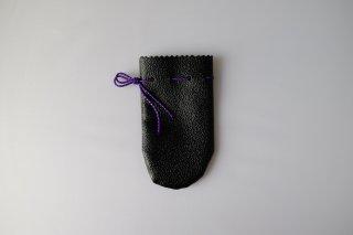 石突 合皮 黒無地◆クリックポスト利用可(注文個数制限なし)◆