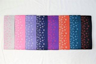 帯 ジャガード織 小桜【女子】◆クリックポスト利用可◆