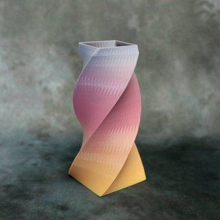 【一点物】 「007」 幾何学模様のグラデーション 箸立て&花瓶風