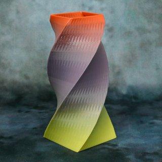 【一点物】 「008」 幾何学模様のグラデーション 箸立て&花瓶風