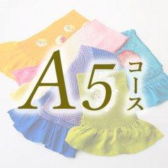 きものクリーニング (A5コース) 丸洗い 帯締めor帯揚げor重ね襟 ※A1、A2、A4、B1、B2、B3コースと一緒にご注文下さい