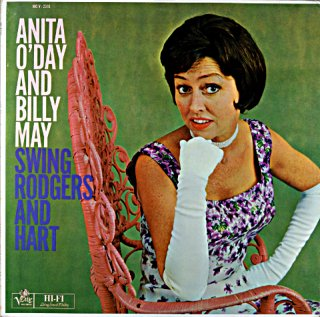 ANITA O'DAY AND BILLY MAY US盤