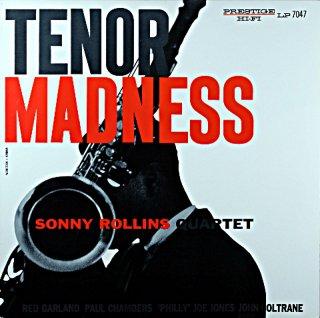 TENOR MADNESS SONNY ROLLINS QUARTET(OJC盤)