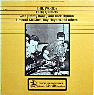 PHIL WOODS EARLY QUINTET US盤